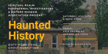 Copy of Haunted History: Doty Homestead tickets