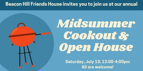 2019 Midsummer Cookout and Open House tickets