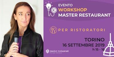 Workshop EVENTO Master Restaurant