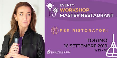 Workshop EVENTO Master Restaurant biglietti