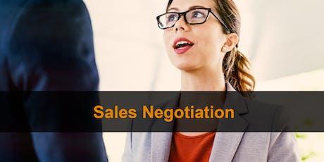 Sales Training London: Sales Negotiation tickets