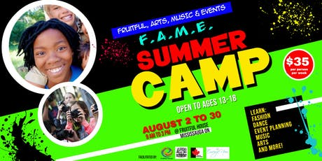 F.A.M.E. Summer Camp (Youth Session) tickets