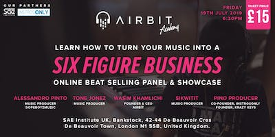 Airbit Academy Online Beat Selling Panel & Showcase 2019