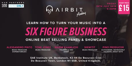 Airbit Academy Online Beat Selling Panel & Showcase 2019 tickets