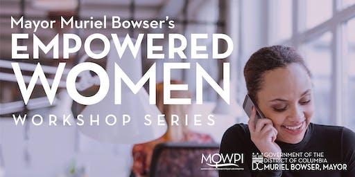 Empowered Women Workshop Series