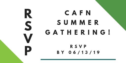 CAFN Summer Gathering