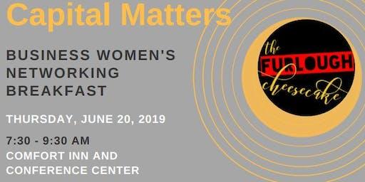 Capital Matters: Business Women's Networking Breakfast