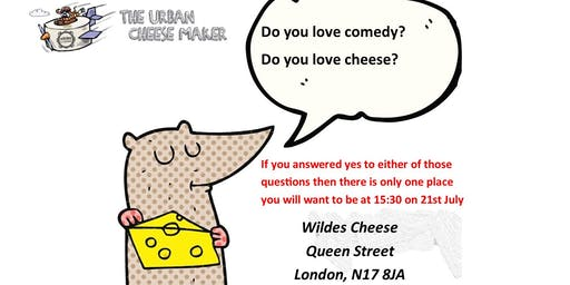 Cheese and Comedy for CALM (Campaign Against Living Miserably)