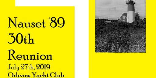 Nauset Class of 1989 30th Reunion