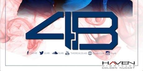 DJ 4B @ Haven Nightclub AC July 6th tickets