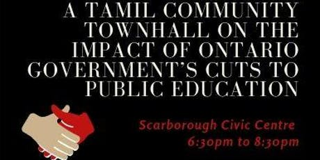 Tamil Community Townhall tickets