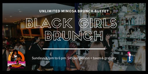 Black Gurl Brunch from Hustle & Soul on WeTv Unlimited Mimosa Brunch Buffet