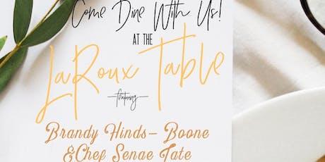 The LA Roux Table Pop up Restaurant tickets