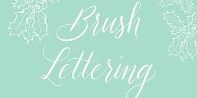 Brush Lettering Workshop für Anfänger - Weihnachtsspecial