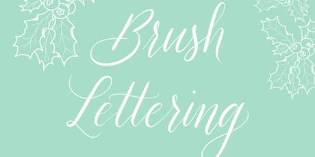 Brush Lettering Workshop für Anfänger - Weihnachtsspecial Tickets