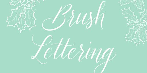 Brush Lettering Workshop für Anfänger - Weihnachts