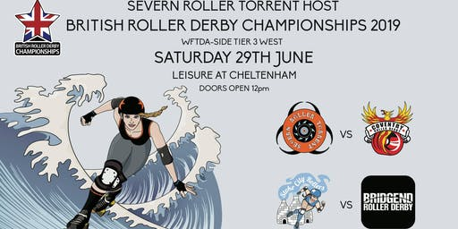 Severn Roller Torrent present British Roller Derby Championships