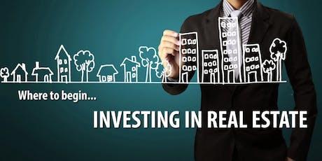 Columbia Real Estate Investor Training - Webinar tickets