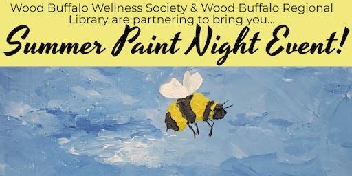 Summer Paint Night!