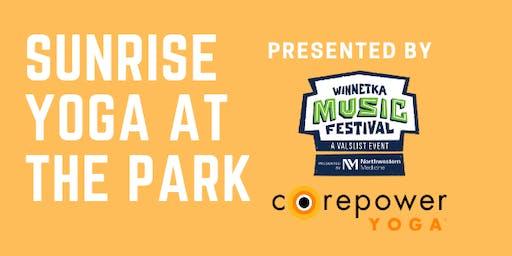 Winnetka Music Fest kickoff with Beachfront Yoga