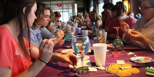 Wine Glass Painting at The Runway by Patrick Restaurant & Bar 6/25 @ 6:30pm