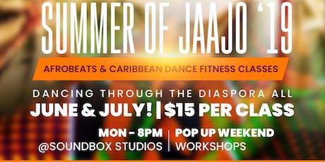 Jaajo Dance Class tickets
