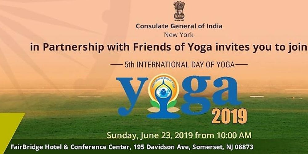 01fe9fe025 Yoga Festival - IDY 2019 Tickets, Sun, Jun 23, 2019 at 10:00 AM ...