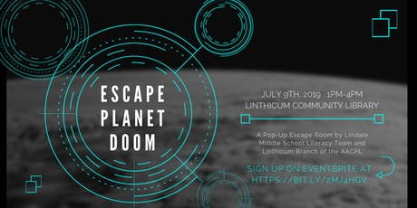Pop Up Escape Room: Escape Planet Doom tickets