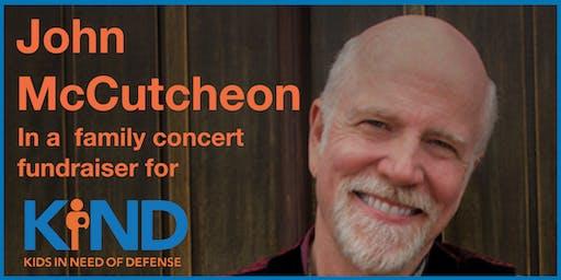 John McCutcheon Family Concert Fundraiser for KIND, Atlanta (Kids' Music)