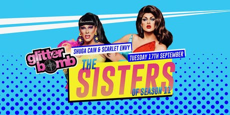 Scarlet Envy and Shuga Cain / Glitterbomb Canterbury tickets