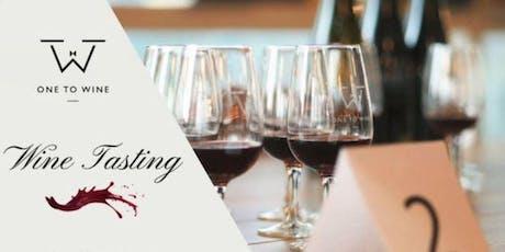 Tasting 101 @Mindspace: Initiation to wine tasting tickets