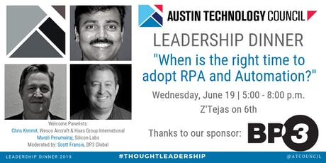 Austin Technology Council : Leadership Dinner | Jun 19 tickets