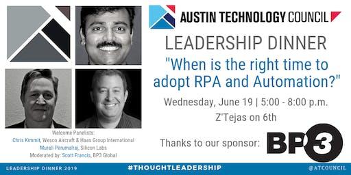 Austin Technology Council : Leadership Dinner | Jun 19