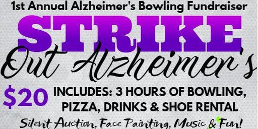 1st Annual Strike Out Alzheimer's Bowling Fundraiser