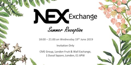 NEX Exchange Summer Reception tickets