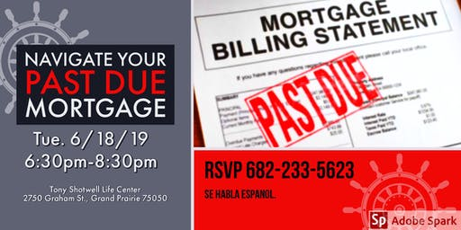 Navigate Your Past Due Mortgage