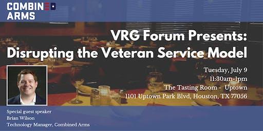 VRG Forum Presents: Disrupting the Veteran Service Model
