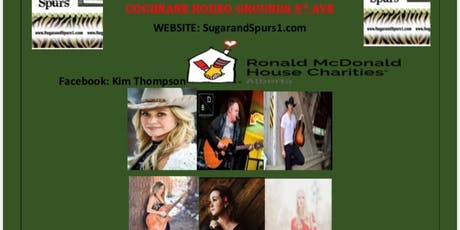 Sugar and Spurs Barrel Race & Alberta Country Music Fest  tickets