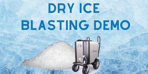 Dry Ice Blasting Demo