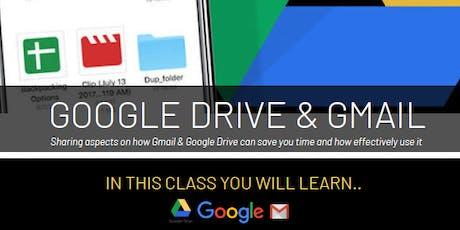 Google Drive & Gmail Workshop tickets