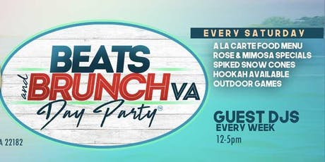 Beats And Brunch VA Day Party l July 27 tickets