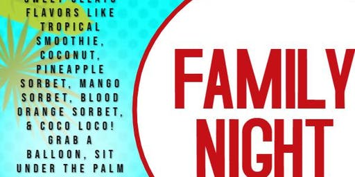 Summer Fun Family Night
