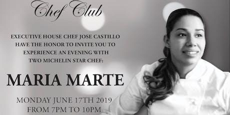Chef Club Cocina taller Maria Marte  tickets