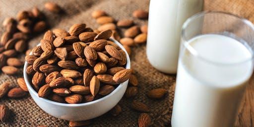Weavers Way Neighborhood Nutrition Team Workshop: DIY Nut Milks - Demo & Tasting
