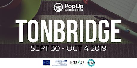 Tonbridge - PopUp Business School | Making Money From Your Passion tickets