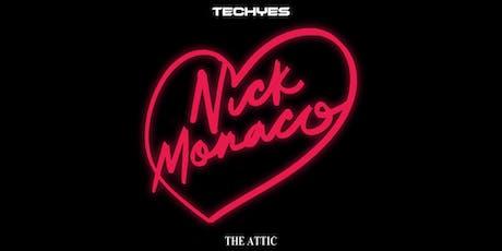 Nick Monaco at The Attic - 9/13 tickets