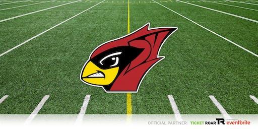 Del Valle vs McNeil Varsity Football