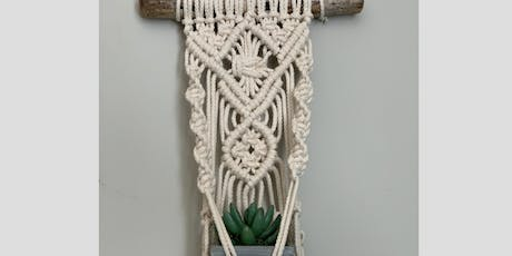 Bethlehem Plant Hanger Macrame Night tickets