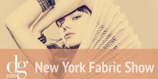 New York Fabric Show/ July 2019