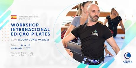 Edição Pilates Internacional com Jacobo Gomez Vazquez ingressos